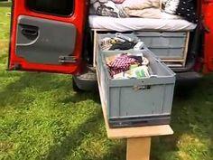 Camping-Ausbau Opel Combo C Hochdachkombi - YouTube