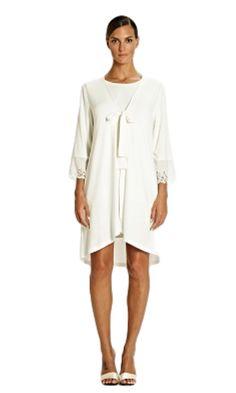 Tata Italian Ivory Jersey Asymmetric Wrap 8/10/12/14/16/18/20  #wrap #sweetheart #kimono #nighty #nightdress #nightwear #pyjamas #pjs Pyjamas, Pjs, Jersey Shorts, Italian Style, Nightwear, No Frills, Hemline, Kimono, White Dress