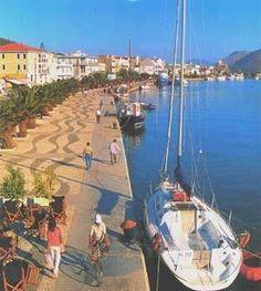 argostoli waterfront kefalonia