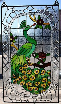 antique stained glass by loracia
