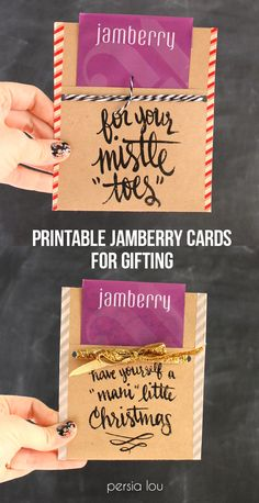 Free Printable Nail-Themed Gift Tags - This is such a cute idea for a friend or teacher gift!