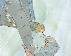 Baby mine.. dumbo watercolor.