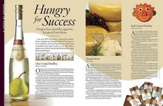2 Page Magazine Layout | Magazine Layout; Food | Flickr - Photo Sharing!