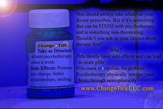 Side Effects, Pills, Shampoo, Therapy, Personal Care, Change, Self Care, After Effects, Personal Hygiene