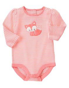 Baby Fox Bodysuit at Gymboree (Gymboree 0-24m)