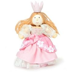 BUDKINS - Princess Francesca. Wooden toys. Imaginative Play. Preschooler. Preschool. Toddler. Fun. Learning. Educational.