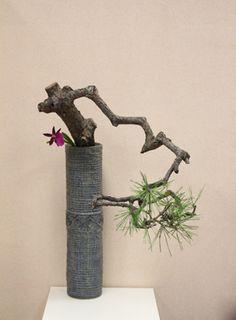 Ikebana Flower Arrangement, Ikebana Arrangements, Beautiful Flower Arrangements, Flower Vases, Flower Art, Floral Arrangements, Cactus Flower, Arte Floral, Oriental Flowers