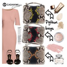 """""""CASHHIMI 5"""" by gaby-mil ❤ liked on Polyvore featuring Canvas by Lands' End, Gucci, Jane Iredale, Nude by Nature, W3LL People, Christian Dior, Sophia Webster, bags, PYTHON and cashhimi"""