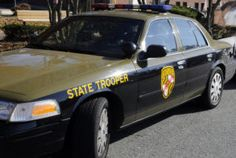 """A Maryland state trooper was hit by a car and thrown into another vehicle. Two traffic citations were issued Tuesday: a violation of Maryland's """"move over"""" law, which carries a fine of $750; and negligent driving, which carries a fine of $280. @AnnapolisPatch"""