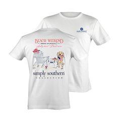 Simply Southern Beach Weekend T- Shirt