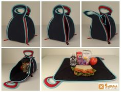 FlatBox-LunchBox - Folds Out to a Placemat by Rita Floyd-Vester — Kickstarter