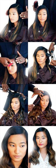 Mane master #TedGibson explains how to create a glamorous, #wavy side part style http://on.elle.com/OOrBgf