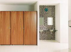 Commercial toilet partition - DIMENSION - Armitage Venesta