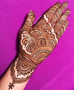 Festive Season is around the corner Please DM to book your Diwali Henna Appointment! Rajasthani Mehndi Designs, Peacock Mehndi Designs, Full Hand Mehndi Designs, Mehndi Designs 2018, Mehndi Designs For Beginners, Mehndi Designs For Girls, Mehndi Design Photos, Wedding Mehndi Designs, Beautiful Henna Designs