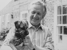 James Herriot and border terrier