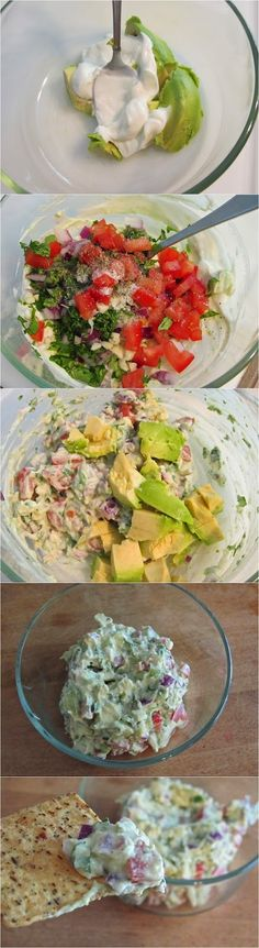 Guacamole (Click on picture for ingredients and recipe instructions)