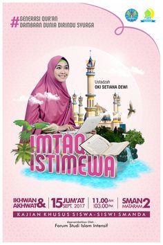 Poster Imtaq Istimwea Client : SMAN 2 Mataram - NTB