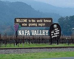 Napa Valley. Done.