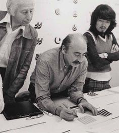 Saul Bass (8 de mayo de 1920 - 25 de abril de 1996) reconocido diseñador gráfico estadounidense.