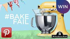 Show us your #BakeFail on Pinterest.