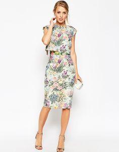 Elegant Spring Racing Fashion for Oaks Day - embellished co-ord pencil dress