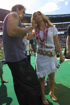 Jessica Simpson At 2002 Pro Bowl In Honolulu February 9 2002