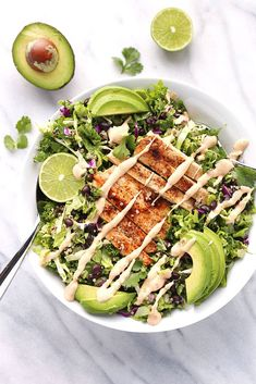 Chopped Chicken Salad with Quinoa and Black Beans