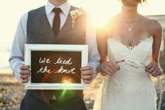 nautical + wedding = love