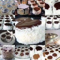 Lájk, ha Te is szereted! Hungarian Desserts, Hungarian Cake, Hungarian Recipes, Mini Christmas Cakes, Christmas Baking, No Bake Desserts, Dessert Recipes, Dessert Drinks, Sweet And Salty