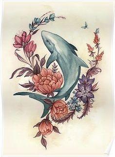 back tattoos for women spine Hai Tattoos, Kunst Tattoos, Body Art Tattoos, Spine Tattoos, Abdomen Tattoo, Cross Tattoos, Tribal Tattoos, Floral Skull Tattoos, Sea Life Tattoos