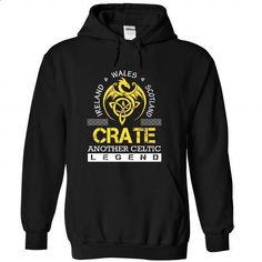 CRATE - #black zip up hoodie #music t shirts. CHECK PRICE => https://www.sunfrog.com/Names/CRATE-slaxshxrrm-Black-36174555-Hoodie.html?id=60505