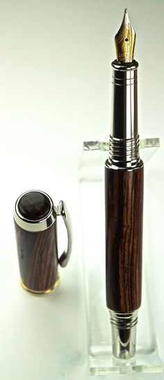 Handcrafted Wooden Pen Hand Turned Fountain by MikesPenTurningZ, $139.00