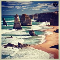 Take in the rugged splendor of the 12 Apostles a magnificent collection of limestone stacks off the shore of the Port Campbell National Park by the Great Ocean Road in Victoria Australia.  #WanderingDiva - A #Luxury #Travel #Guide More on Melbourne: http://ift.tt/1S4AofR #LuxuryTravel #Travel #Inspiration #TravelLuxury #Travels #travelingram #luxurytravel #bucketlist #Escapes #Melbourne #12apostles #Australia #victoria by wandering.diva http://ift.tt/1ijk11S