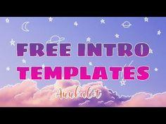 #freeintro - YouTube Intro Youtube, Templates, Make It Yourself, Feelings, Blog, Free, Stencils, Vorlage, Blogging