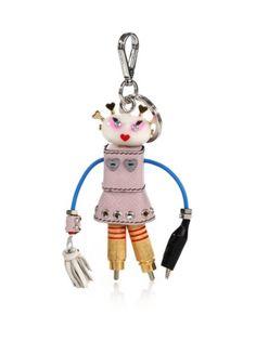 87cfeaddba83f3 Prada - Cheer Robot Keychain Designer Shoes, Designer Handbags, Online  Shopping Stores, Leather