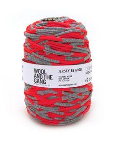 Jersey be Good #woolandthegang high viz orange