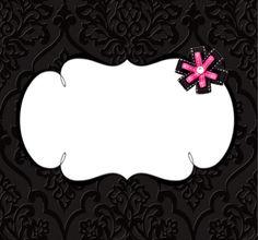 A bit pink#freelabel #labeldesign #eveiolabel #owndesign #girlylabel #vintagelabel #cutelabel #blackandpink #cutelabel