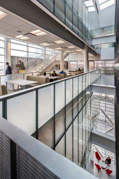Rutgers Business School with TEN Arquitectos, Piscataway, NJ. (Photo: Peter Aaron Architectural Photography)