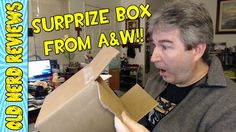 SUPRISE BOX FROM A&W RESTAURANTS!!