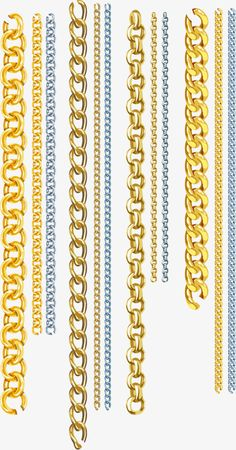 Vector chains PNG and Vector