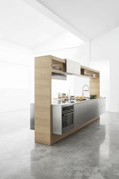 The Archea freestanding modular kitchen system.