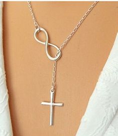 Casual Fashion Personality Cross Pendant Necklace Gift Lasso * Be sure to check out this awesome product.