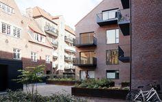 EFFEKT's Thurøhus apartments feature homogenous brick facades