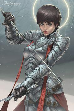f Paladin Plate Armor Duel Rapier urban city traveler JeeHyung lee