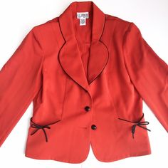 Adorable Jackie O Style Crop Blazer! Super cute cropped jacket! Classic First Lady style. Can be worn with jeans and black platforms! Vintage price tag reads 10p. Poly blend fabric mixed with spandex for a nice fit! Chest 40 inches and 34 waist. Great condition! Vintage Jackets & Coats Blazers