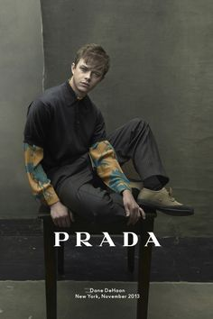 Dane Dehaan Profile - Acting Career  Prada Campaign (Vogue.com UK)