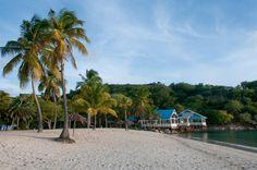 Empty Beach on Antigua