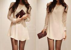 Flounce Chiffon Dress