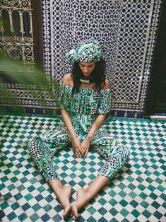 Mara Hoffman Swim'16 Collection, set in Marrakech, starring Melodie Vaxelaire, photographed by Olivia Malone.