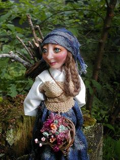 little peasant girl, (Fairy Folk Originals)